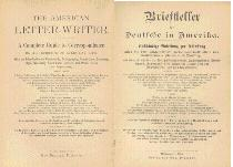 Title page of 'American-German Letter Writer'