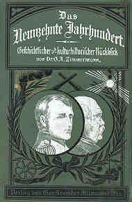 Book cover: Das Neunzehnte Jahrhundert.