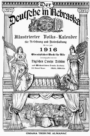 "Cover of ""Der Deutsche in Nebraska"""