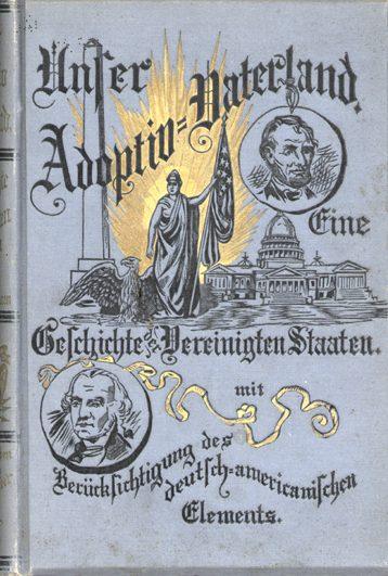 Cover of book titled Unser Adoptiv-Vaterland