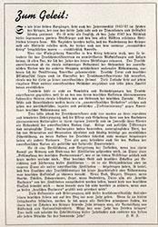 """America Herold Kalender, """"Zum Geleit"""""""