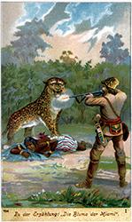 Illustration from Die Blume der Miami. Eine Indianer-Erzählung