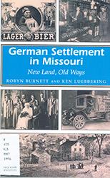 "Cover of ""German Settlement in Missouri"""