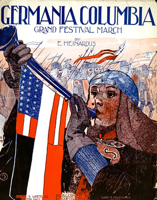 Cover of Germania Columbia Grand Festival March