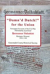 """Cover of """"Damn'd Dutch!"""" for the Union"""