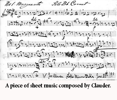 Music composed by Clauder