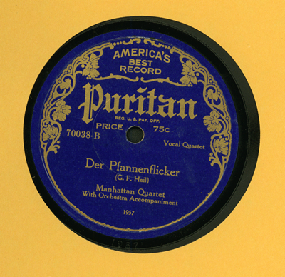 Puritan Record cover