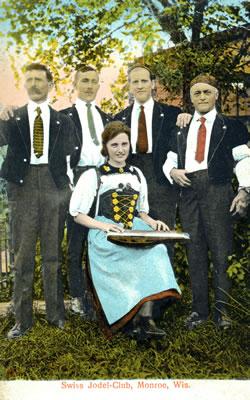 Swiss Yodel Club of Monroe, circa 1920