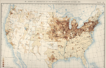 Statistical Atlas of the United States. Washington: Government Printing Office, 1898, map 58, plate 20