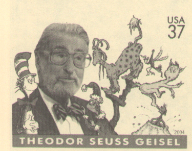 Seuss postage stamp