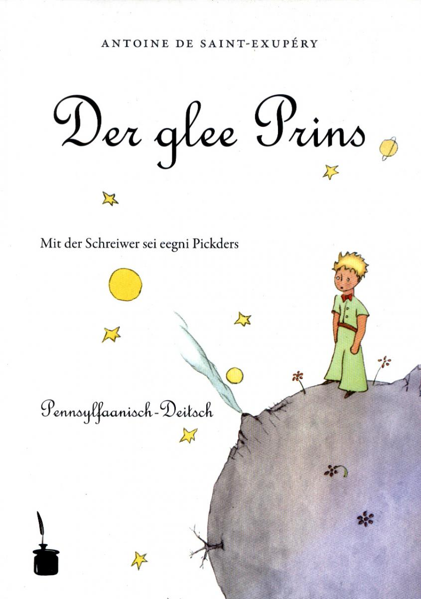 Cover of Der glee Prins