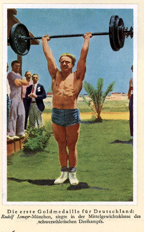 Rudolf Ismayr wins gold medal for Germany