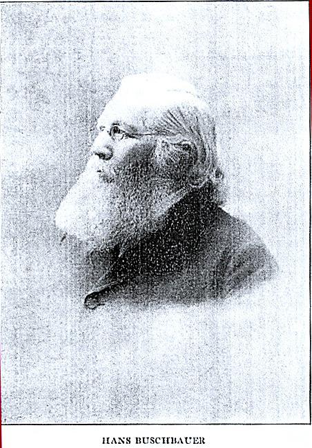 Portrait of Francis A. Hoffmann, aka Hans Buschbauer