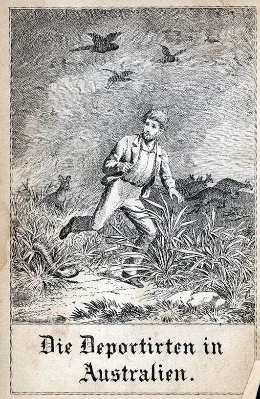 Cover of Die Deportirten in Australien