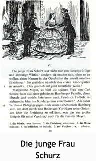 A page from the book Kleinstadt in Amerika