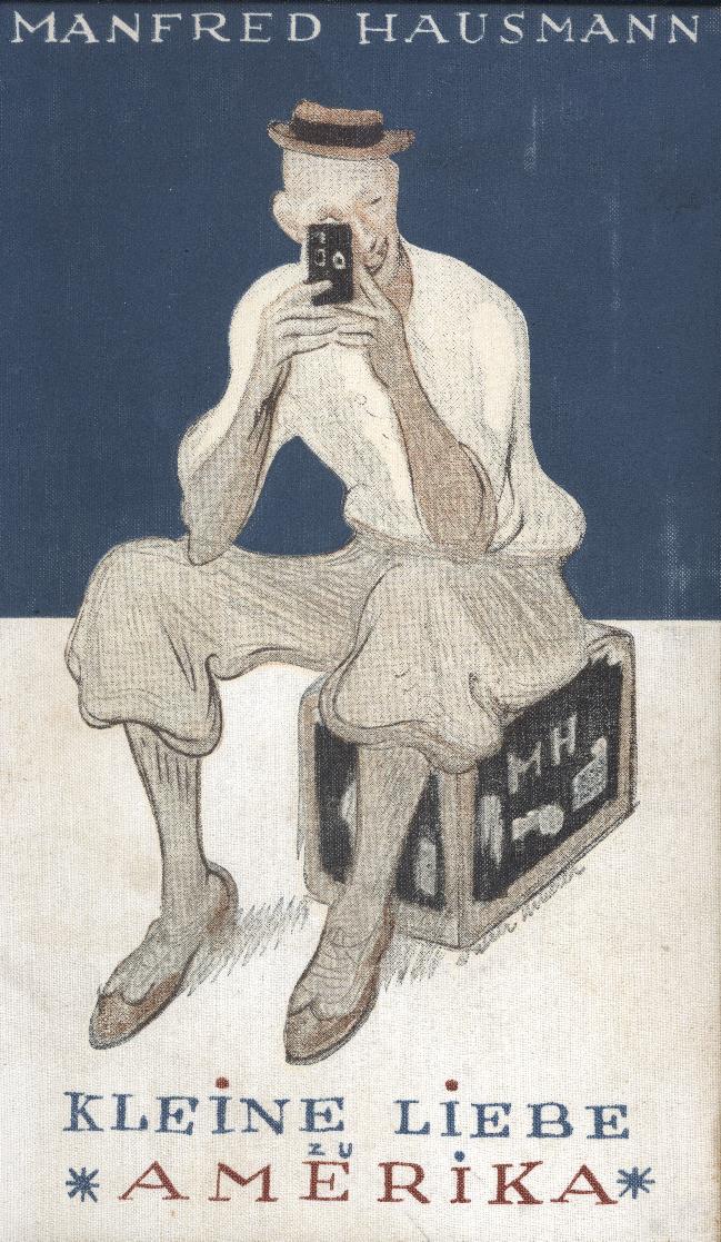 """Cover of Hausmann's """"Kleine Liebe zu Amerika"""""""