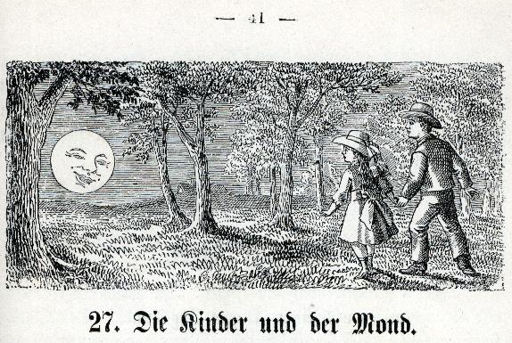 Die Kinder und die Mond