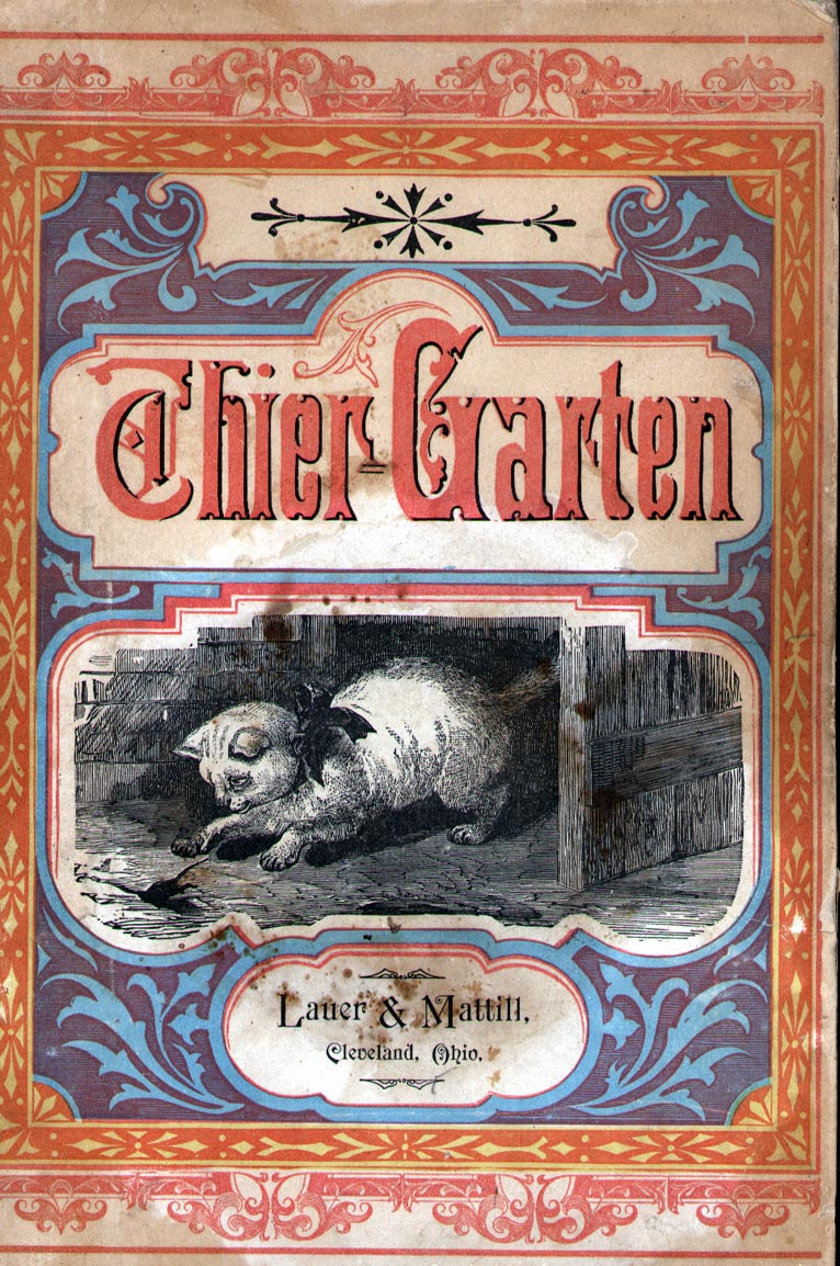 Cover of the Thier-Garten book