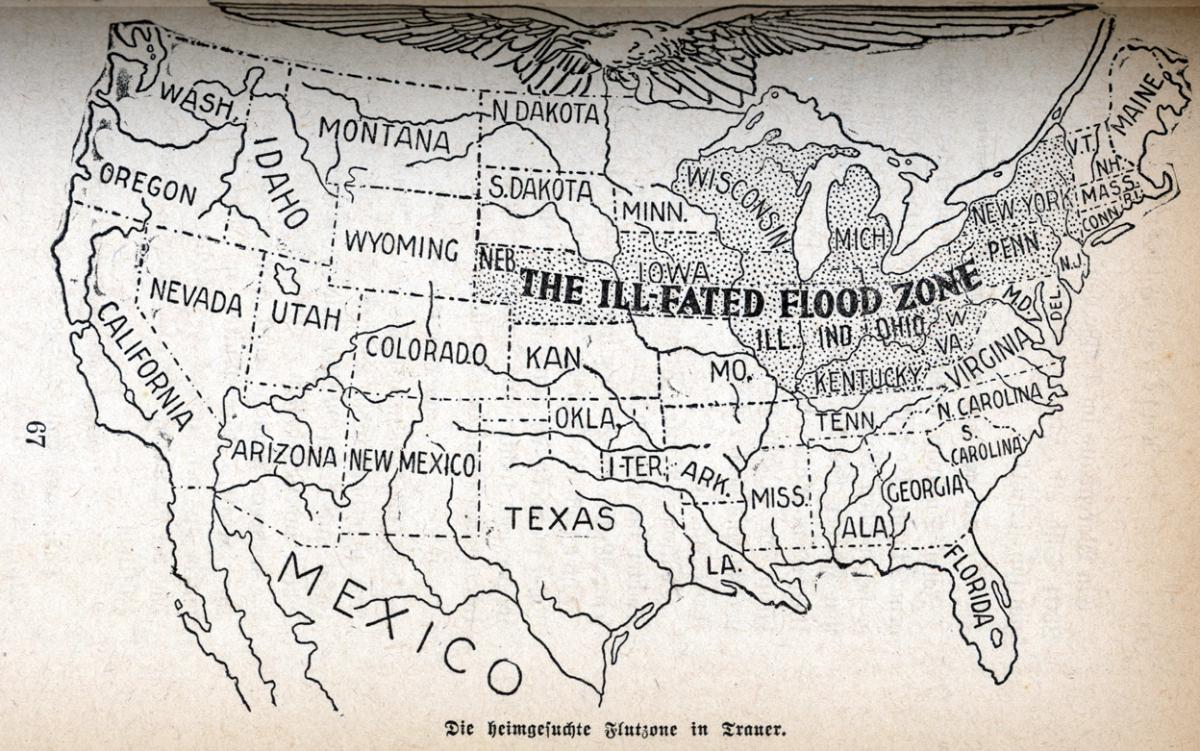 Map of the ill-fated flood zone