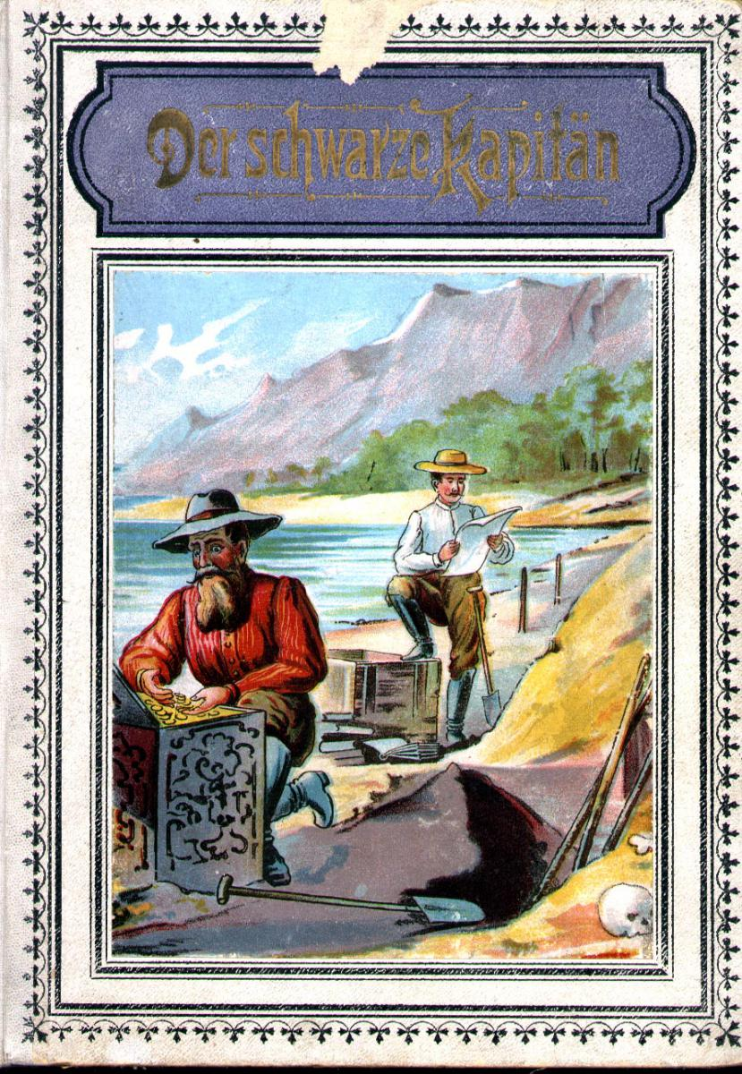 Cover of Die schwarze Kapitaen, by James Cox